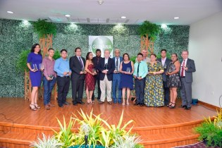 Some of the awardees at the first Guyana Tourism Awards ceremony