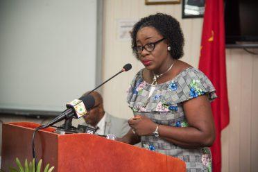 Hon. Dr. Nicolette Henry, Minister of Education
