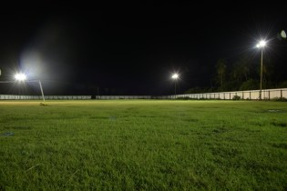 After the commissioning of the lights at Central Mahaicony Community Centre Ground last month of this year