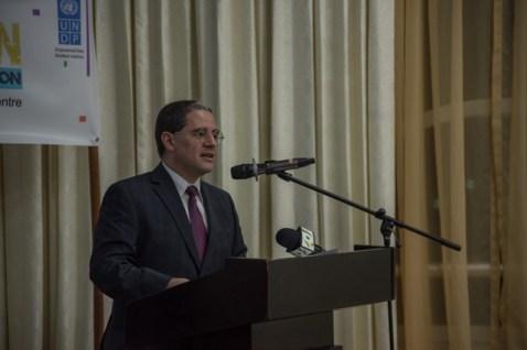 Jairo Valverde Bermudez, Resident Representative of UNDP