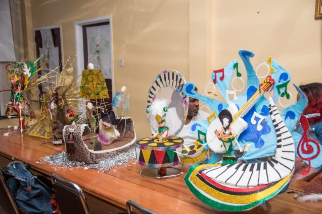 Music Model by Jermaine Brooms and his group