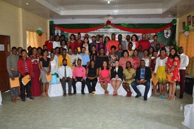 Graduates, organizers, facilitators and special invitees pose for group photo