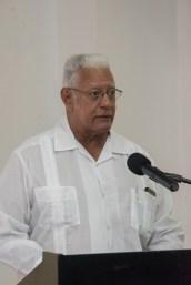 Minister of Agriculture, Hon. Noel Holder.