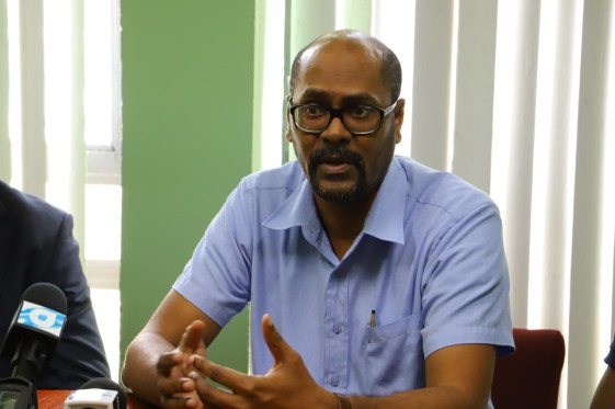 David Cole, Manager of Information Systems Division, Guyana Lands and Surveys Commission