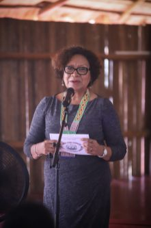 Minister Within the Ministry of Indigenous Peoples Affairs Valarie Garrido Lowe