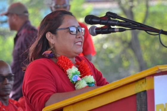 PPP/C Regional Candidate, Nurse Doreen Alpine.