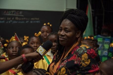 Elizabeth Johnson, Music Teacher, Sophia Primary School.