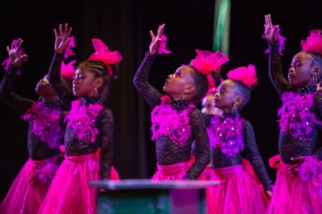 St. Pius Primary Dance Group Performing at the Children's Mashramani Competition at the National Cultural Centre.
