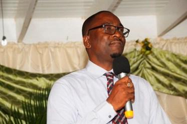 Headteacher of Port Mourant Secondary School, Mr. Mark Lyte.