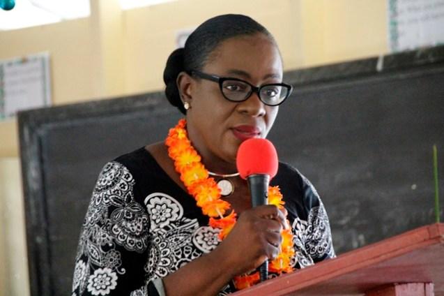 Minister of Education, Dr. the Hon. Nicolette Henry.