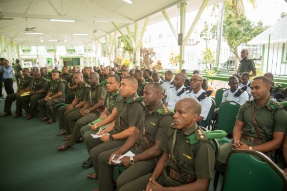 GDF Officers gathered at the Annual Officers Conference.