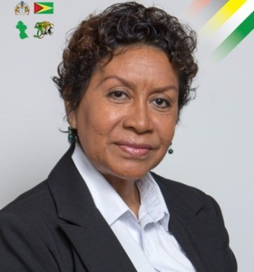 Minister within the Ministry of Indigenous People's Affairs, Valerie Garrido-Lowe