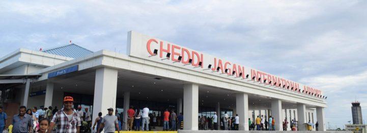 Snapshot of Cheddi Jagan International Airport