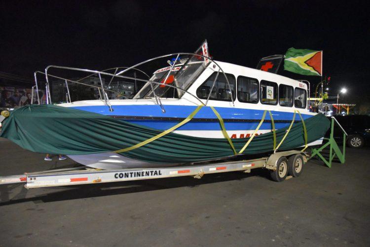 The $16M river ambulance for the Moruca Sub-Region, Barima-Waini