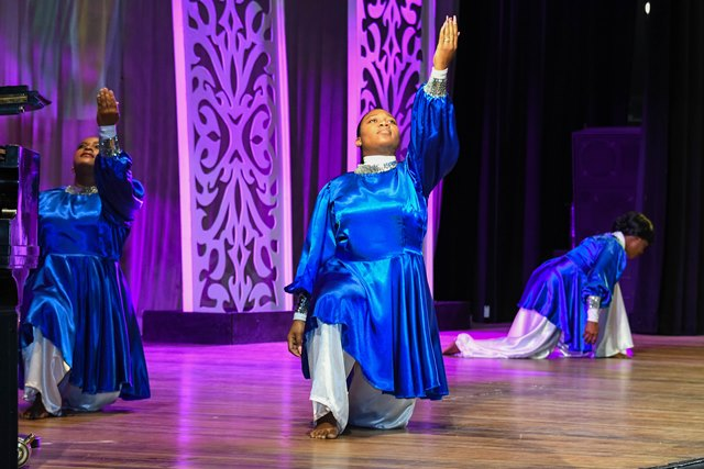 Members of the Royalty Dance Ministries during their performance.