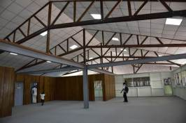 Inside the institute.