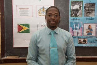 District Education Officer (DEO), Sherwyn Blackman.
