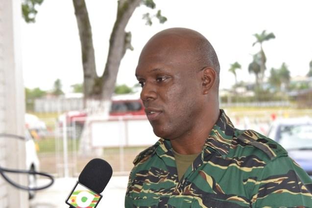 Lieutenant Colonel Kester Craig, Director General, CDC.