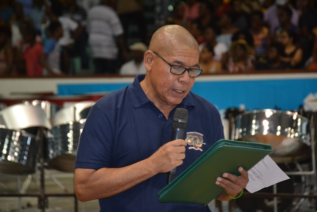 Minister of Social Cohesion, with responsibility for Culture, Youth and Sport, Dr. George Norton.