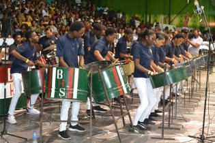 The Bishops' High School, winner of the Large Youth Bands category.