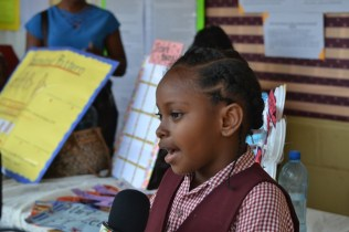 Talisha Williams, Student, Timehri Primary School.