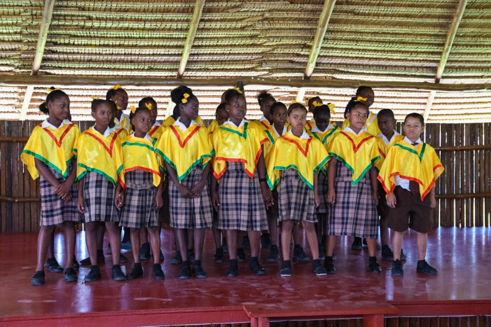 Sophia Primary Students Singing