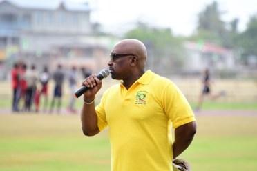 Guyana Overseas Based Sports Association (GOBSA), Vice-President Gordon Lewis.