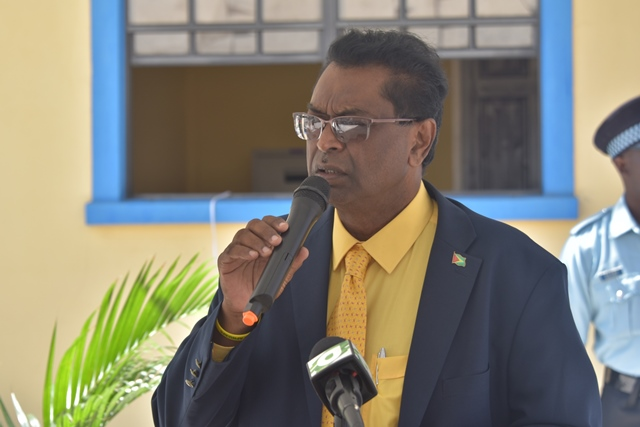 Hon. Khemraj Ramjattan, Minister of Public Security.
