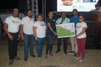 Guyana Tourism Authority officials launching the Rum Route