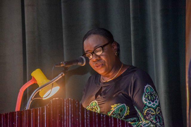 Minister of Education, Hon. Nicolette Henry.