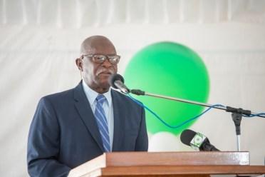 Minister of Citizenship, Honourable Winston Felix.