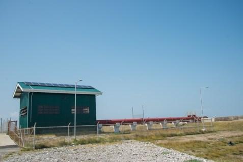 376.9M pump station at Buxton/Friendship.