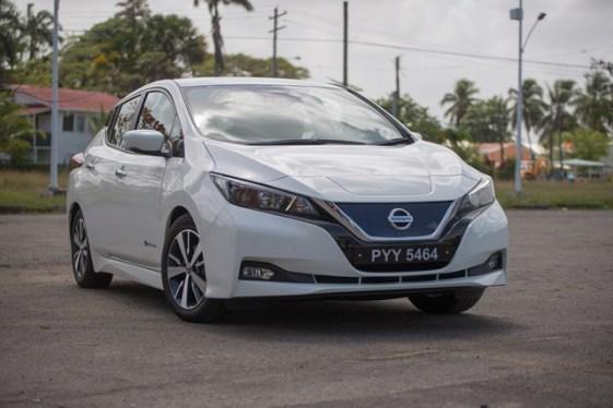 2019 Nissan Leaf electric car.