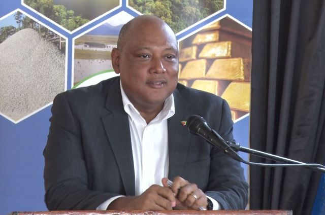 Minister of Natural Resources, the Hon. Raphael Trotman.
