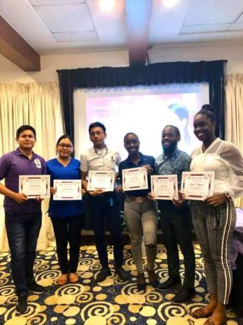 Recognised Phlebotomists from National Medical Laboratory Services, Region 4.