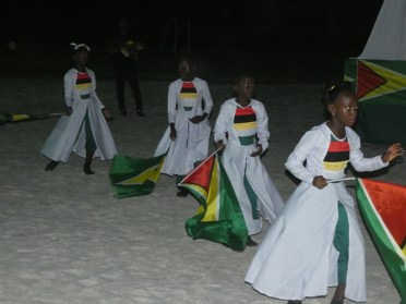 A cultural dance by the epic dance group.