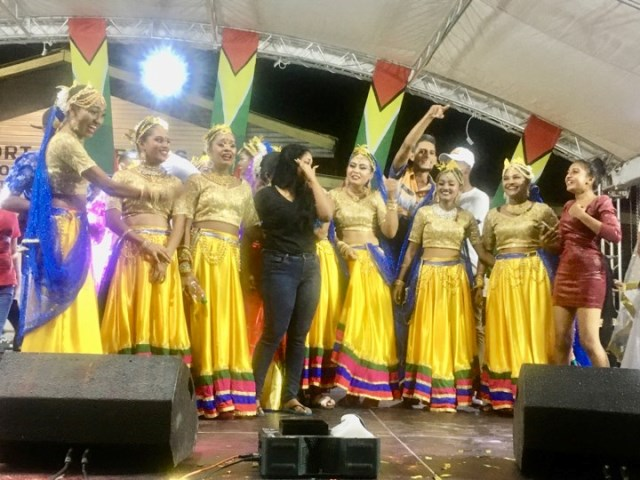 National Chutney Dance Champions Berbice Delight after being announced the winners.