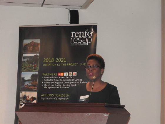 PAC Commissioner Denise Fraser during opening remarks