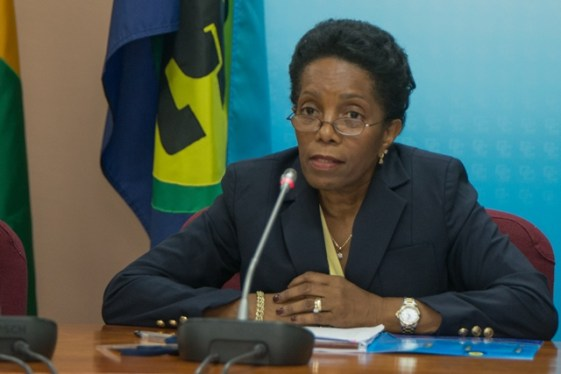 Chief of Mission of the CARICOM Election Observation Mission, Cynthia Combie Martyr.