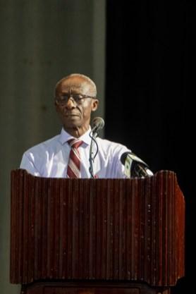 PAHO/WHO Representative for the Guyana, Dr. Adu-Krow