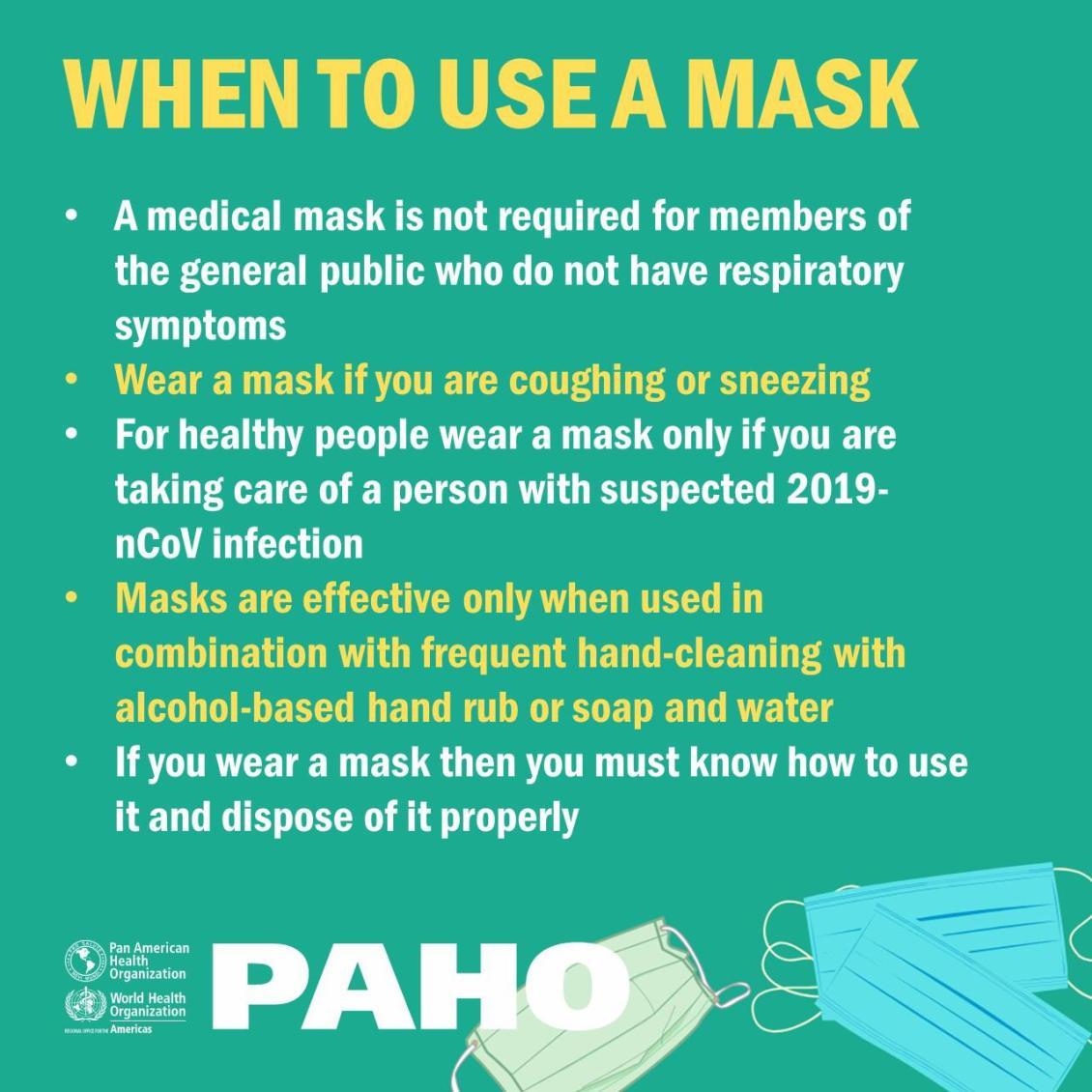 face mask use