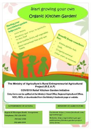 MOA's COVID-19 Relief Kitchen Garden initiative