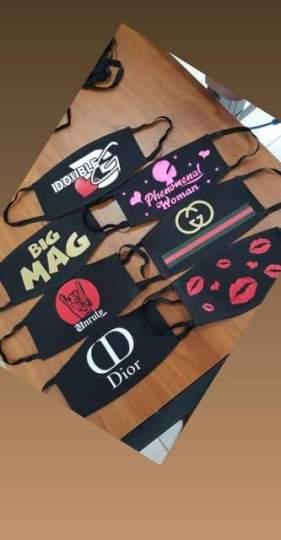Some of the Cadogan's custom-designed masks