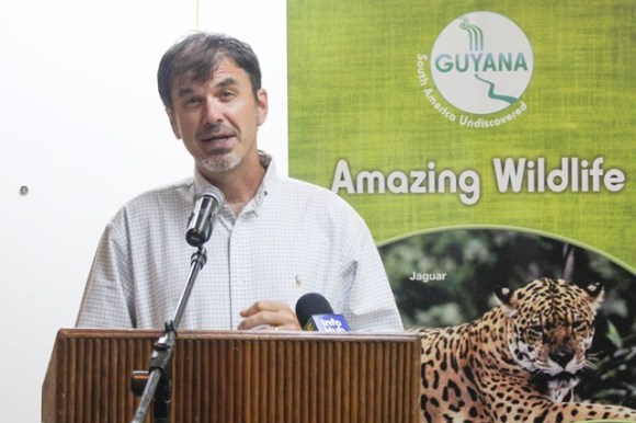 Former Director of the Guyana Tourism Authority, Brian Mullis