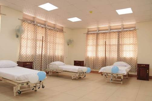 One of the wards in the Port Kaituma Hospital