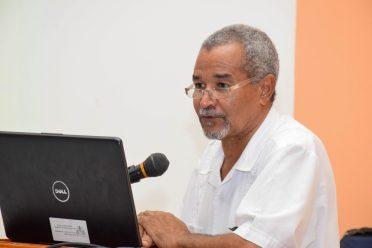Regional Health Officer (RHO) of Region Seven, Dr. Edward Sagala