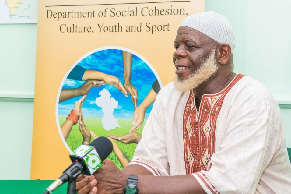 Vice Chairman of the Department of Social Cohesion's Muslim Core Group, Imam Shaheed Uthman