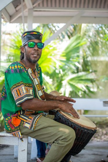 Ras-lij James, President of the most sought-after Congo Nya Cultural Foundation.