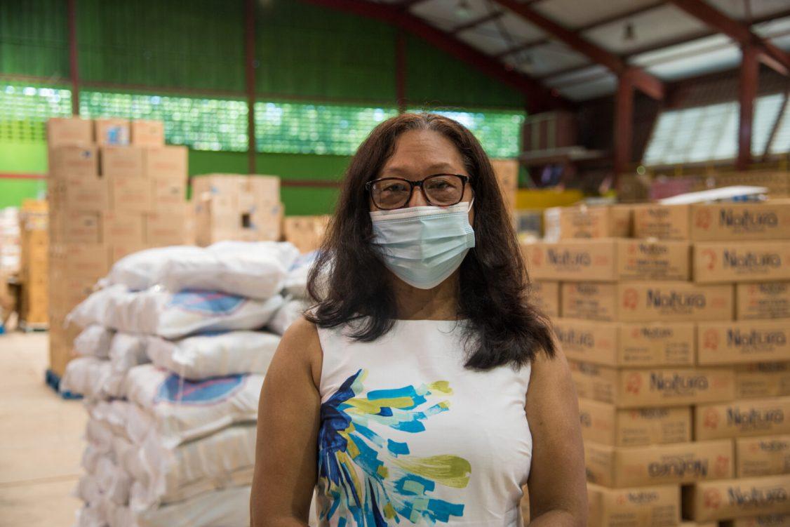Minister of Amerindian Affairs, Hon. Pauline Campbell-Sukhai