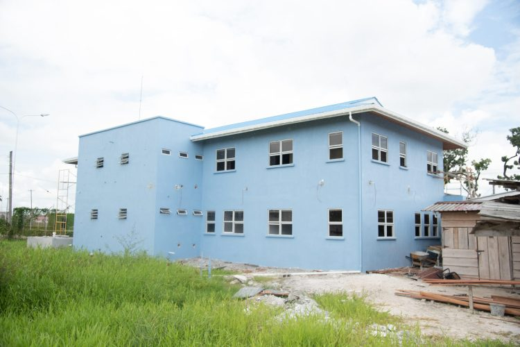 CDC's new building